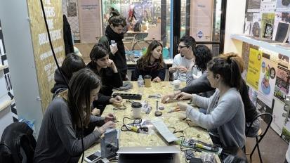 Sound Art workshop by Luc Messinezis